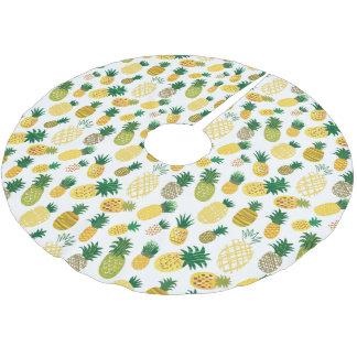 Jupon De Sapin En Polyester Brossé Motif à la mode d'ananas