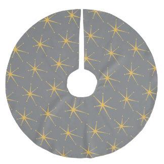 Jupon De Sapin En Polyester Brossé Rétro étoile