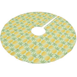 Jupon De Sapin En Polyester Brossé Rétros ananas