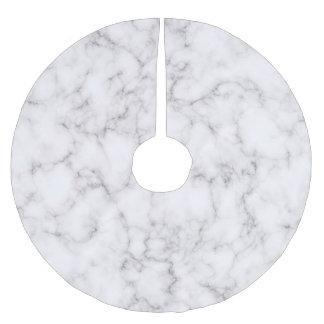 Jupon De Sapin En Polyester Brossé Style de marbre élégant