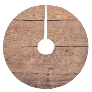 Jupon De Sapin En Polyester Brossé Texture en bois