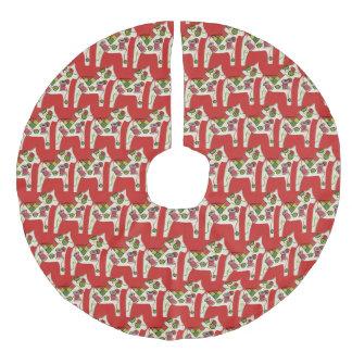 Jupon De Sapin Imitation Lin Jupe d'arbre de Noël de Quilter