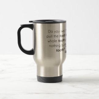 Jurez-vous ? mug de voyage