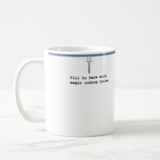 Jus magique de codage mug