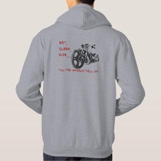 JUSQU'À CE QUE LES ROUES TOMBENT le sweat - shirt