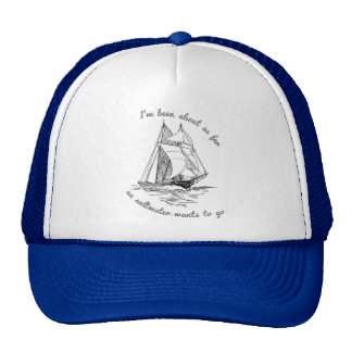 Jusque l'eau de mer - le chapeau du marin casquette