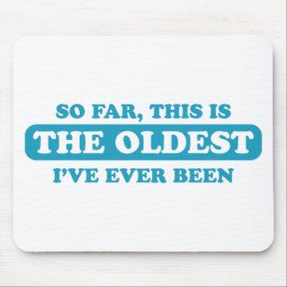 Jusqu'ici, c'est le plus vieux que j'ai jamais été tapis de souris