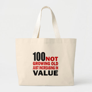 Juste anniversaire 100 croissant grand sac