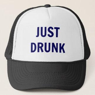 """""""Juste"""" casquette bu de camionneur - texte de"""