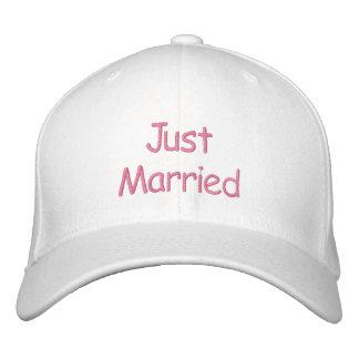 Juste casquette marié