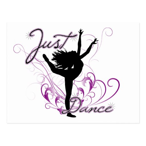 Juste danse carte postale