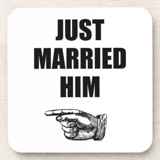 Juste marié lui sous-bocks