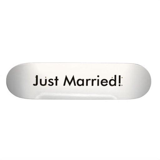 Juste marié ! skateboards