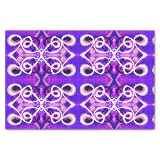 Juste papier de soie de soie abstrait se sentant