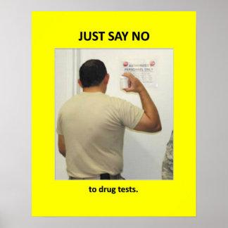 juste-parole-aucun-à-drogue-essais affiche
