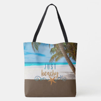 Juste pour la plage tote bag