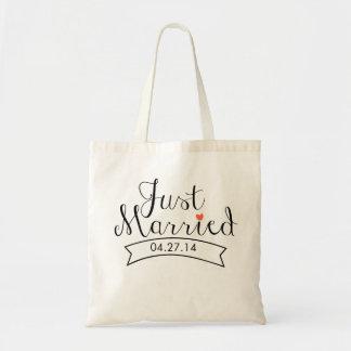 Juste sac fourre-tout marié