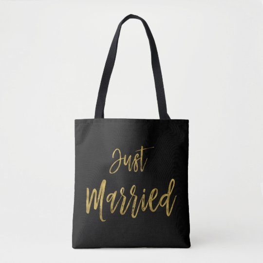 Juste sac marié de plage de jeune mariée de