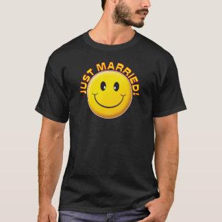 Juste sourire marié t-shirt