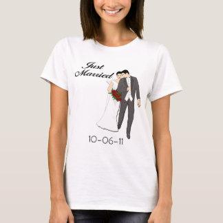 Juste T-shirt marié personnalisé