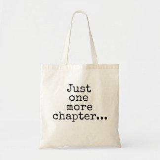 Juste un plus de chapitre… tote bag