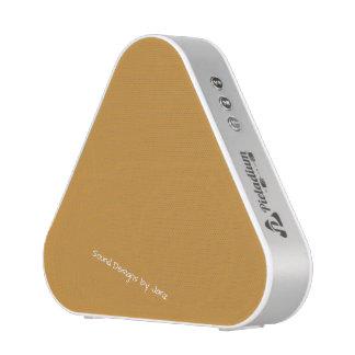 Justesses de conception antiques d'or de Janz Haut-parleur Bluetooth