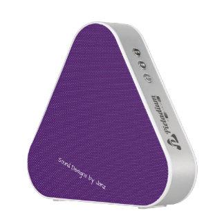 Justesses de conception mauve-foncé de Janz Haut-parleur Bluetooth