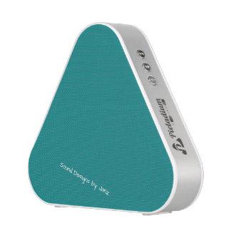 Justesses de conception turquoises d'expressions haut-parleur bluetooth