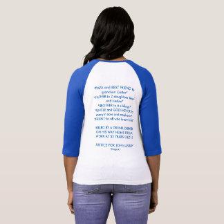 JUSTICE POUR John Avery T-shirt