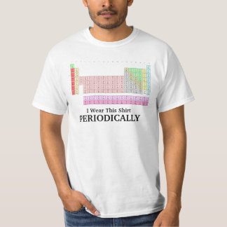 J'utilise ce T-shirt périodiquement drôle de