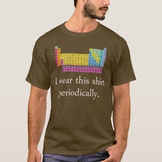 J'utilise cette chemise périodiquement t-shirt