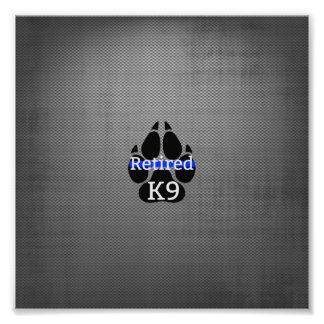K9 retiré photographie