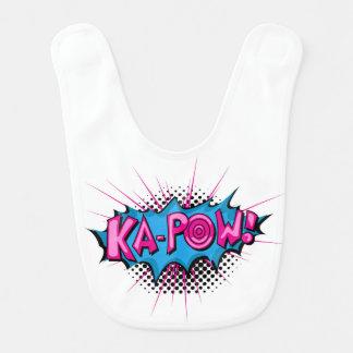 Ka-Prisonnier de guerre comique d'art de bruit ! Bavoir De Bébé