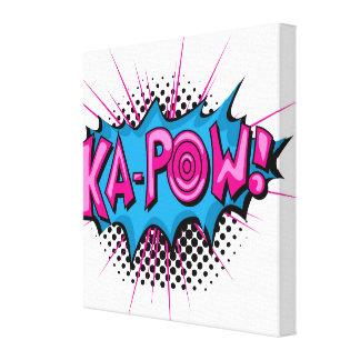 Ka-Prisonnier de guerre comique d'art de bruit ! Toiles