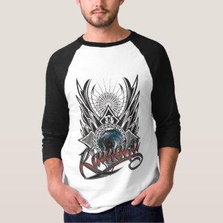 Kainaku 3/4 raglan de douille t-shirt