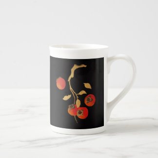 Kaki avec la branche d'or mug