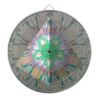 Kaléidoscope 3d d'oiseau de ronflement de triangle cible de fléchettes
