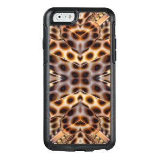 Kaléidoscope de plume de faisan de Brown Coque OtterBox iPhone 6/6s