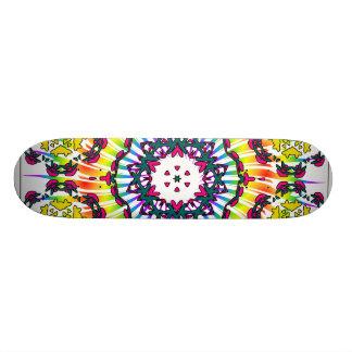 Kaléidoscope et conception de spirale : Planche à  Planches À Roulettes Customisées