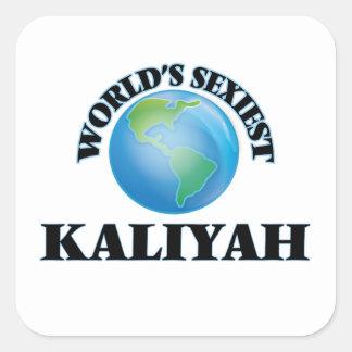 Kaliyah le plus sexy du monde stickers carrés