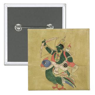 Kama, Dieu de l'amour, 18ème-19ème siècle Badge