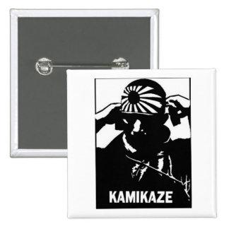 Kamikaze Badge Avec Épingle