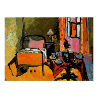 Kandinsky - chambre à coucher dans posters