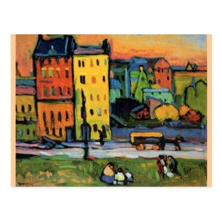 Kandinsky - Chambres à Munich Carte Postale