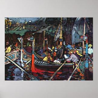 Kandinsky - chanson de Volga Posters
