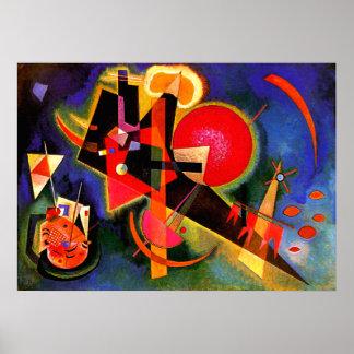 Kandinsky - dans le bleu posters