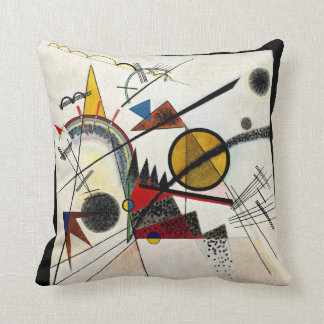 Kandinsky - dans le carré noir coussin