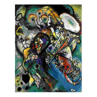 Kandinsky - deux ovales cartes postales