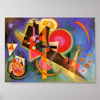 Kandinsky en affiche bleue