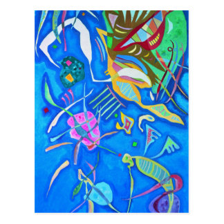 Kandinsky groupant la carte postale